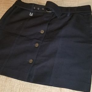 Michael Kors Navy Skirt